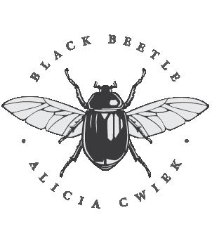 Logo final black beetle design