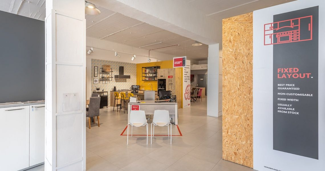 Portfolio Commercial Krea showroom project photo 14
