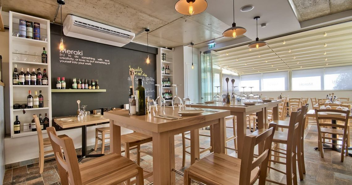 Portfolio Hospitality Meraki restaurant project photo 5