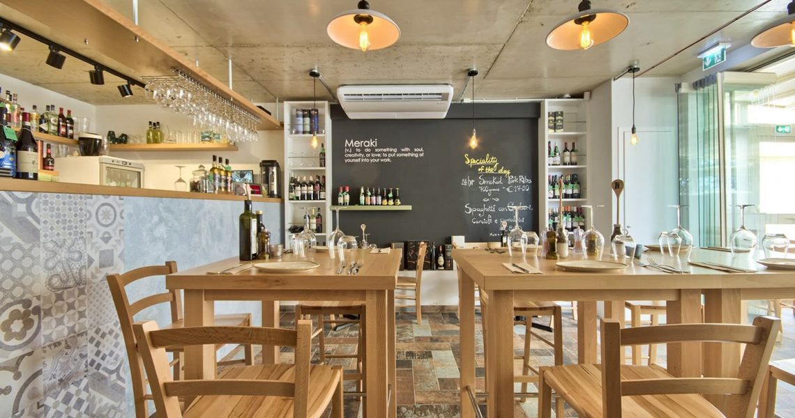 Portfolio Hospitality Meraki restaurant project photo 6