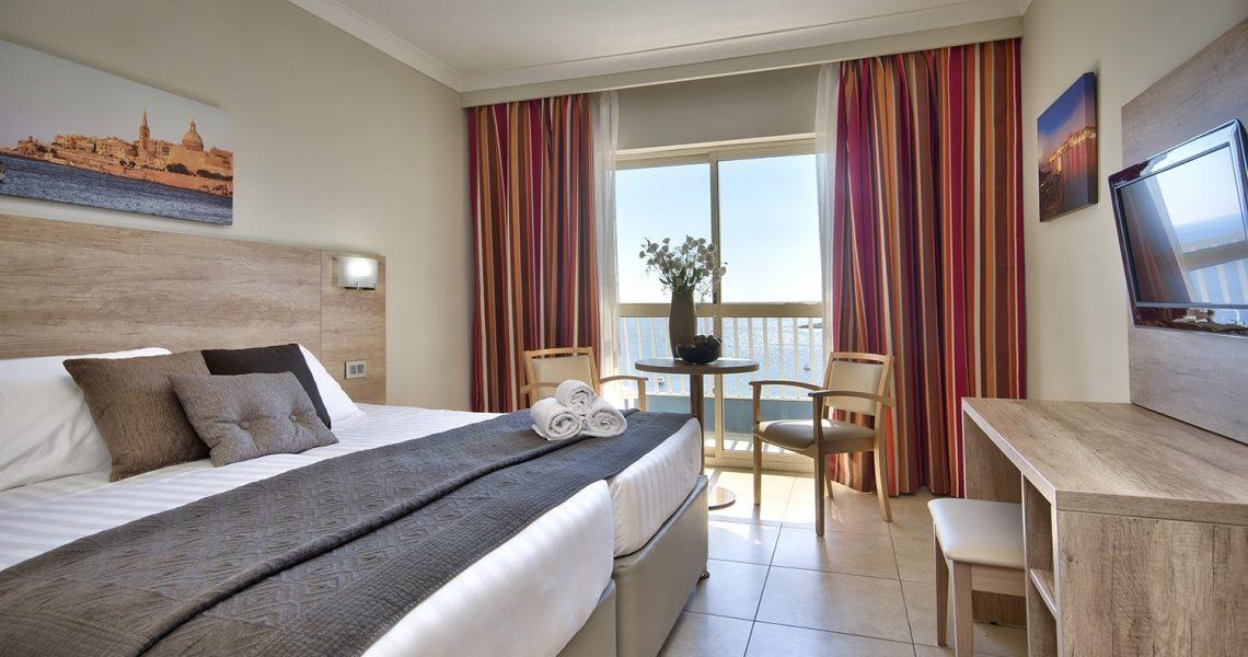 Portfolio Hospitality Qawra Palace hotel project photo 1